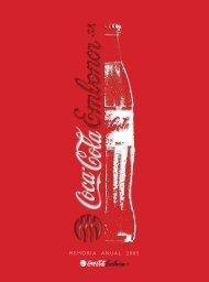 MEMORIA ANUAL 2005 - Coca-Cola Embonor SA