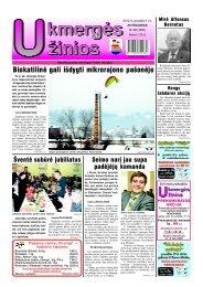 2012-12-11 - Ukmergės žinios