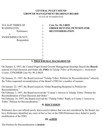 decision denying petition for reconsideration california board of