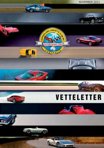 vetteletter november 2011.pdf - qld corvette club inc