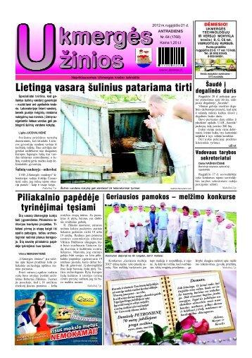 2012-08-21 - Ukmergės žinios