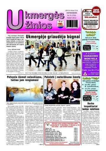 2012-03-13 - Ukmergės žinios