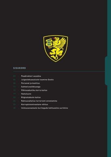 Aastaraamat 2001 (.pdf) - Kaitsepolitseiamet