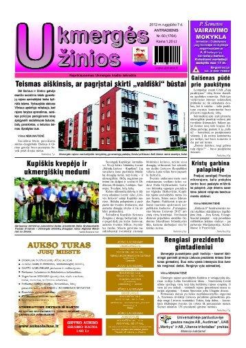2012-08-07 - Ukmergės žinios