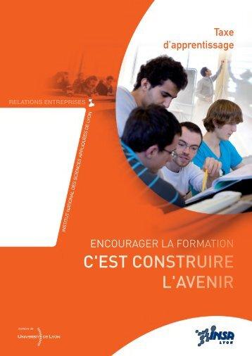 taxe d'apprentissage 2013 - INSA de Lyon