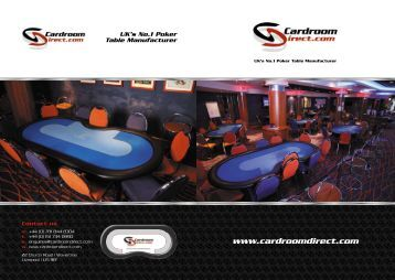 Contact us - RFID Poker Tables
