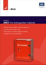 JB03 Fire Extinguisher Cabinet - Jo Bird
