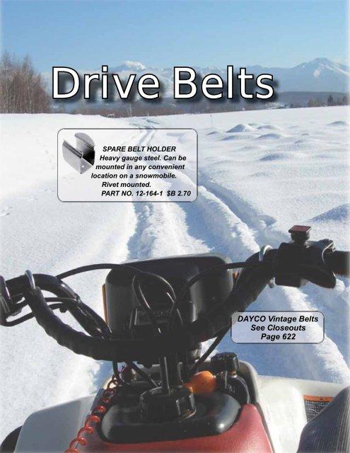 Carlisle Power Snowmobile Ultimax XS Drive Belt Ski-Doo MXZ SPORT 600 2010