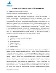 contemporary issues in process hazard analysis - Mustang ...