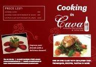Download Cooking in Cava Brochure