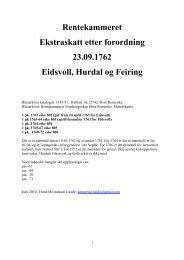 Ekstraskatten: døde 1762-72 - DIS-Norge