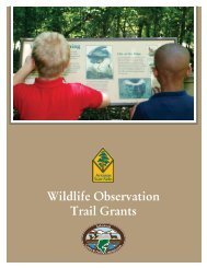 Wildlife Observation Trail Grants - Arkansas Game and Fish ...