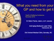 What You Need from Your GP and How to Get It - Interprofessional ...