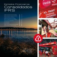 Consolidados IFRS - Coca-Cola Embonor SA