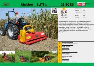 Mulcher ELITE L 25-60 KS - Buchmann Technik AG