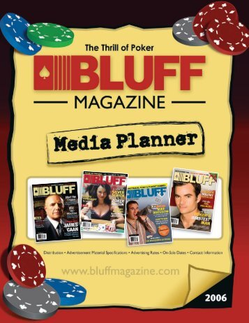 Distribution - Bluff Magazine