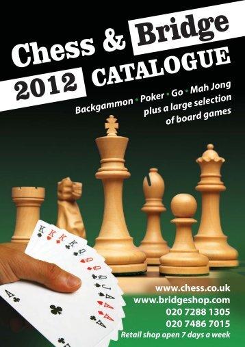 Download Catalogue - Chess & Bridge