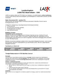 LandboUngdom LASK/TDC Mobil-aftalen - 1640 - Danmarks ...