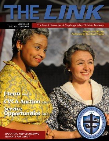 December-January Link .pdf - Cuyahoga Valley Christian Academy
