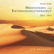 Broschüre als PDF Datei - UTA Akademie