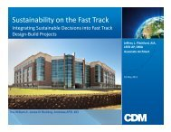 Sustainability on the Fast Track - E2S2