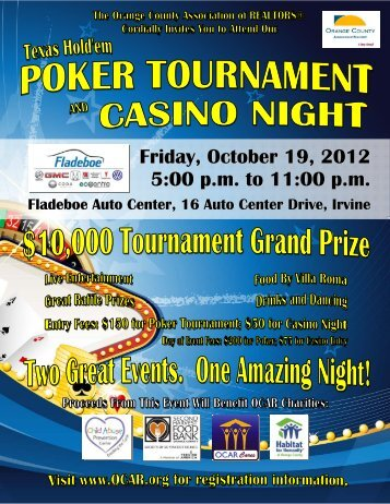 OCAR Poker Tournament Casino Night 2012 8x11 flyer.pub
