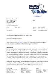 - Ratsfraktion - Stadt Korschenbroich Herrn Bürgermeister Heinz ...