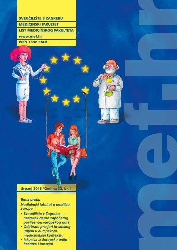 Časopis u pdf formatu (6 MB) - Medicinski fakultet - Sveučilište u ...