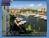 Spectacular Intracoastal Views