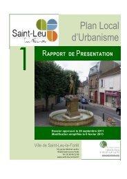 Plan Local d'Urbanisme - Saint-Leu-La-Forêt