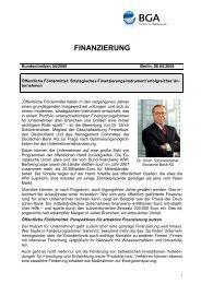 Öffentliche Förderung - Firmenkunden - Deutsche Bank