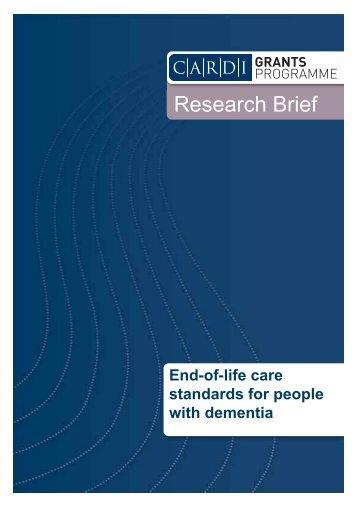 Research Brief - CARDI