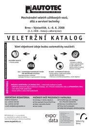 VELETRŽNÍ KATALOG - EXPO DATA spol. s ro