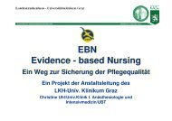 Evidence-based Nursing. Ein Weg zur Sicherung der ... - ONGKG