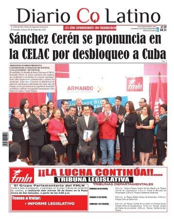 Edición 29 de Enero de 2015