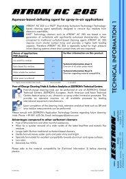 Atron Brochure - Sinerji Grup
