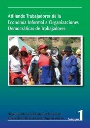 Afiliando Trabajadores de la Economía Informal a ... - Inclusive Cities