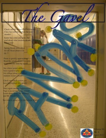 April 2012 Issue - Notre Dame Academy