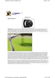 Seite 1 von 4 ryanbrenizer: Review: 85mm f/1.4 03.01.2010 http ...