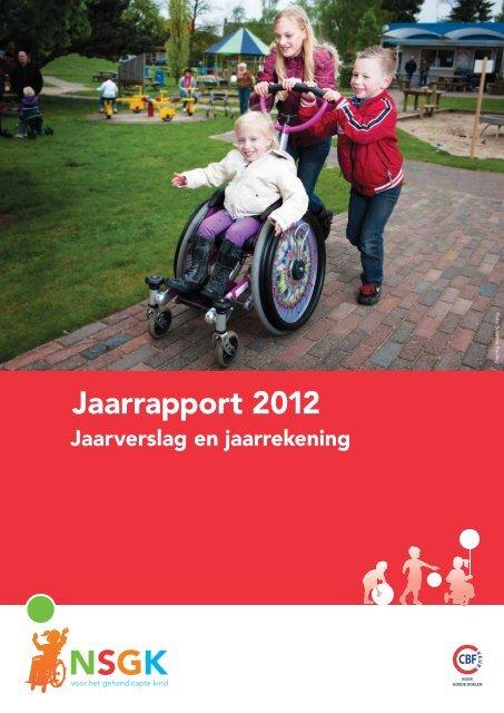 Jaarrapport 2012 - Nederlandse Stichting voor het Gehandicapte Kind