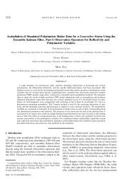 Assimilation of Simulated Polarimetric Radar Data for a Convective ...
