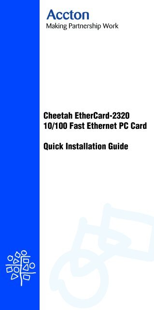 ACCTON CHEETAH PCI FAST ETHERNET ADAPTER 64BIT DRIVER DOWNLOAD