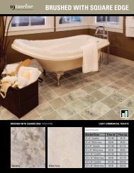 brushed With square edge - Ames Tile & Stone