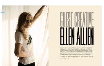 GUEST CREATIVE - Ellen Allien