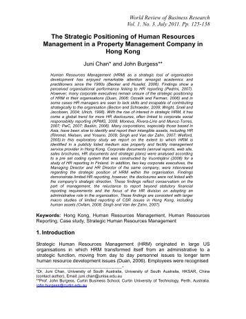 strategic human resources activities matrix What hr department activities best predict business performance  strategic  contribution strategic architect human resources hr delivery hr delivery.