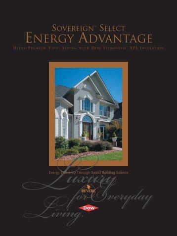 Energy Advantage - Revere Building Products
