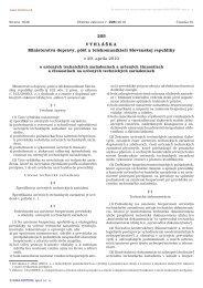 205/2010 Vyhláška Ministerstva dopravy, pôšt a telekomunikácií ...