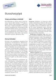 Eturauhassyöpä - Duodecim