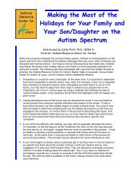 Holiday Tips Nov '11.pdf - Indiana Institute on Disability and ...