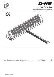 VCD-Solar - D+H Mechatronic